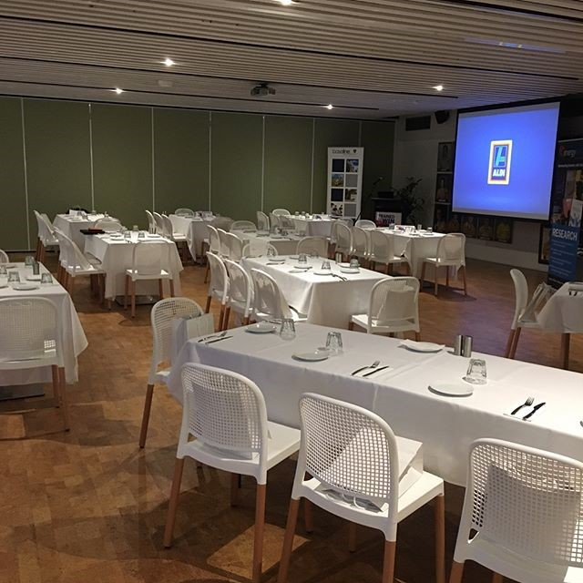 Conference setup, Figs on Sylvan Brisbane, Event Venue