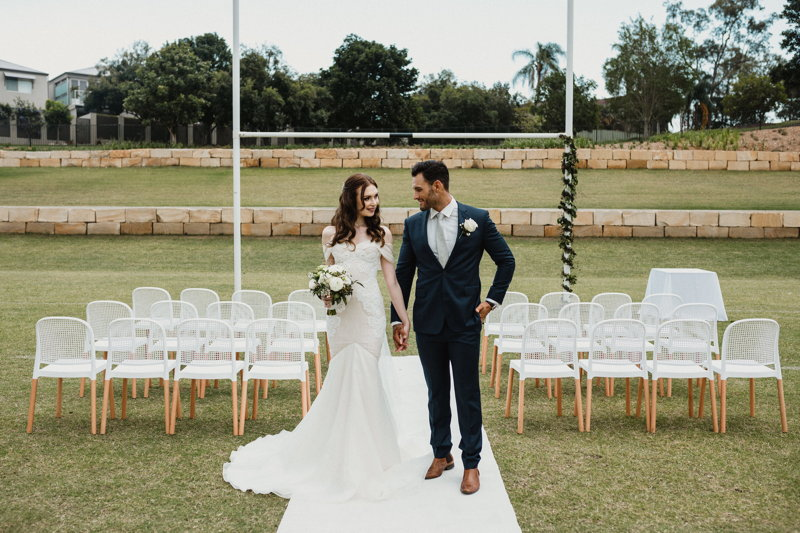 Brisbane wedding venue, Figs on Sylvan, Ceremony
