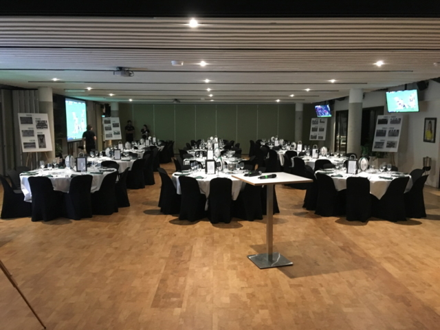 Conference setup, Figs on Sylvan, Brisbane Function Centre